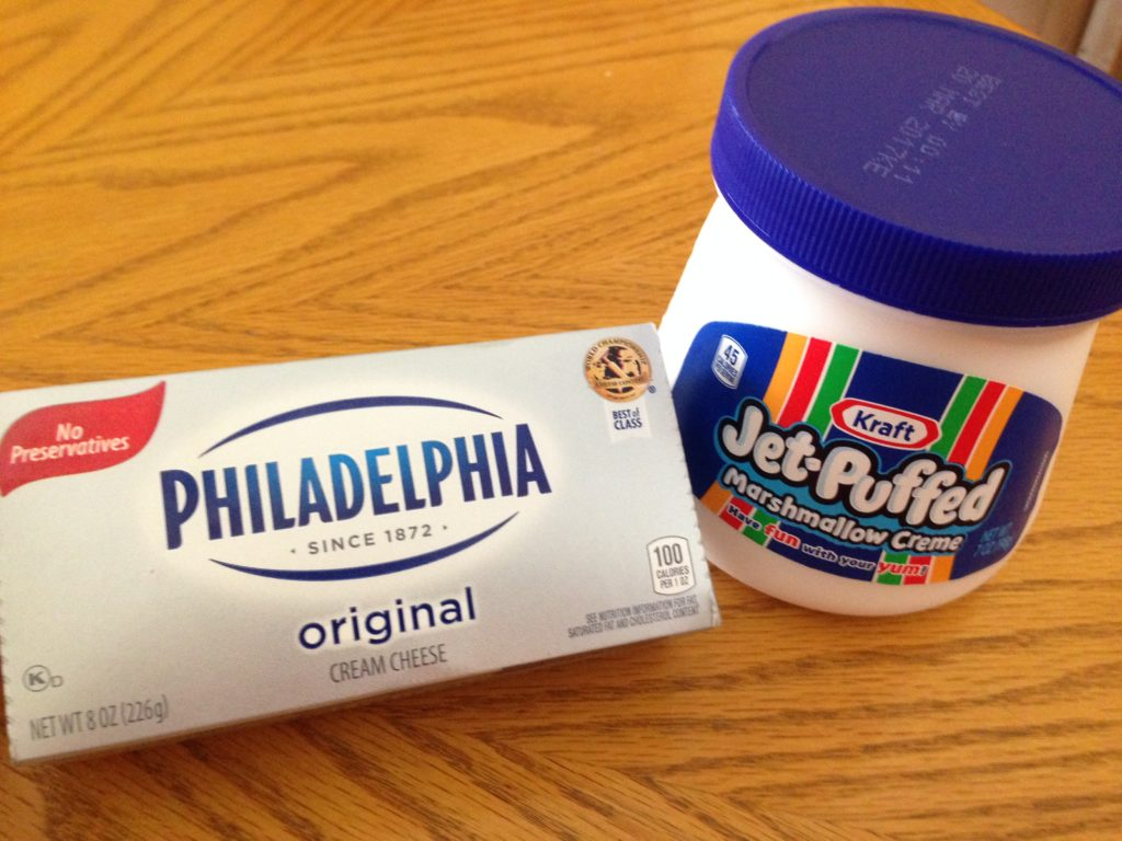 Cream Cheese, Marshmallow Creme