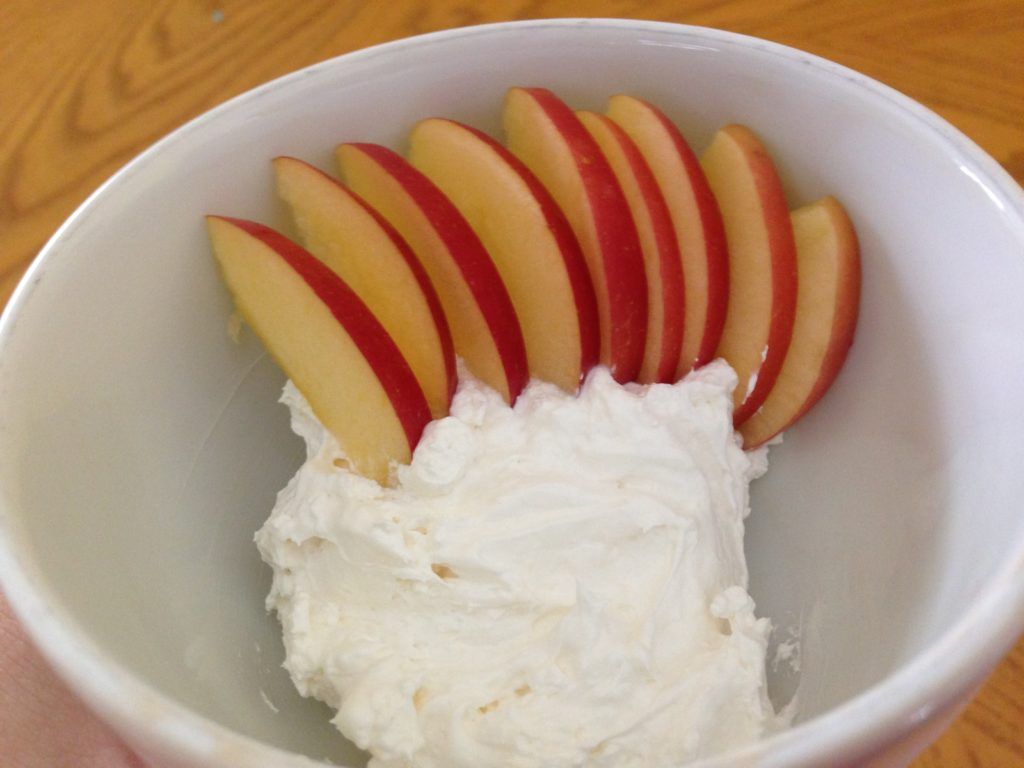 Apples, Cream Cheese, Marshmallow Creme, Easy Apple Dip