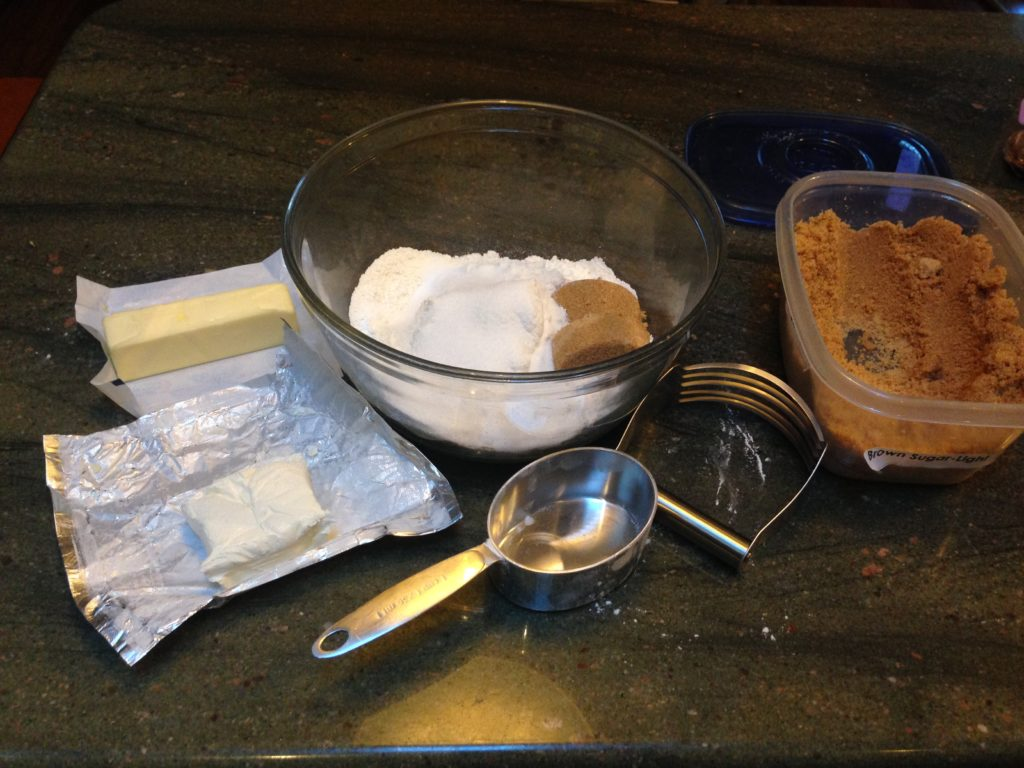 Cinnamon Scone Ingredients