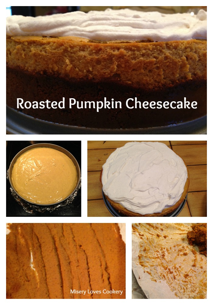 Roasted Pumpkin Cheesecake