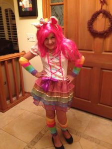 Rainbow Unicorn Costume, Head-to-Toe