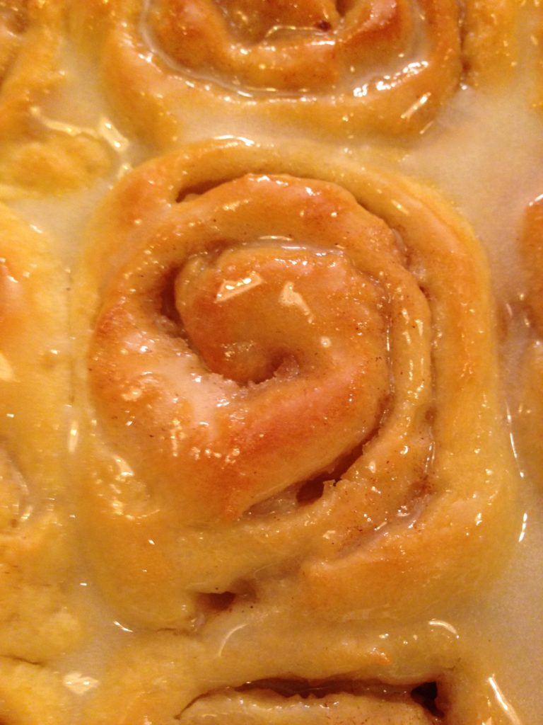Cinnamon Roll Close-Up