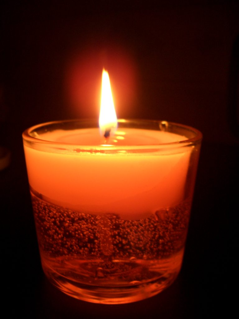 Candle in the Darkness